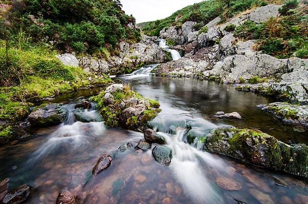 Carey Burn Falls Northumberland by icphoto