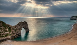 Durdle Door Sunbeams