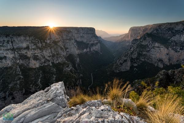 Vikos Gorge Sunset by jamesgrant
