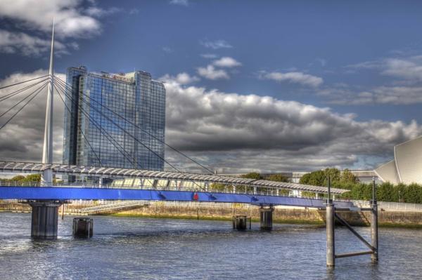 Glasgow -  bells bridge annd marriot hotel by killiekrankie