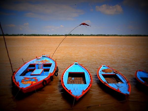 Ganges boats by notsuigeneris