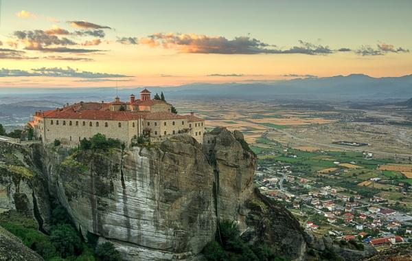 Holy Monastery of St Stephens, Meteora by WeeGeordieLass