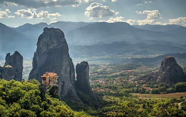 Roussanou Monastery, Meteora by WeeGeordieLass