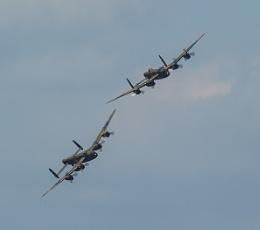 2 Lancaster Bombers
