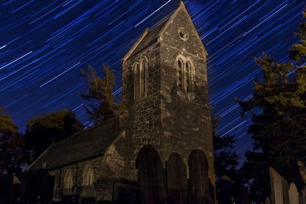 Welsh church star trails by rhys47