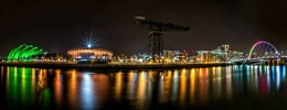 Clydeside Panorama at Night