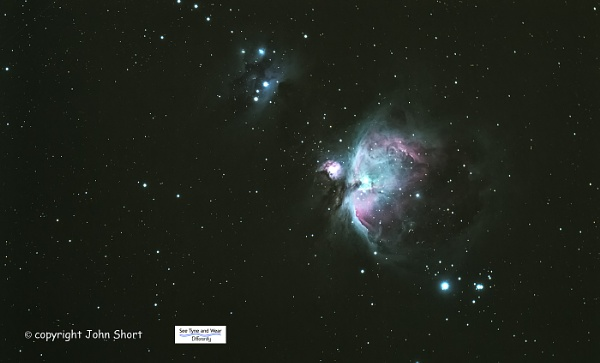 The Orion Nebula by john short