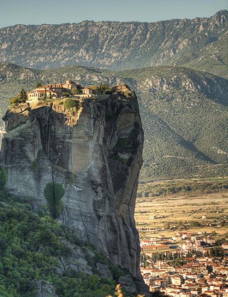 Holy Trinity Monastery, Meteora by WeeGeordieLass