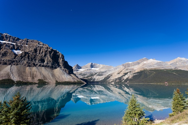 Bow Lake, Banff National Park, Canada by stevew10000