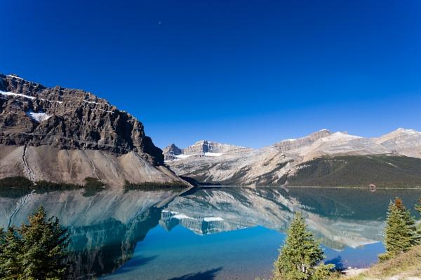 Bow Lake, Banff National Park, Canada by stevew10000