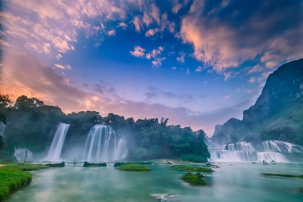 BanGioc waterfall by tugeo