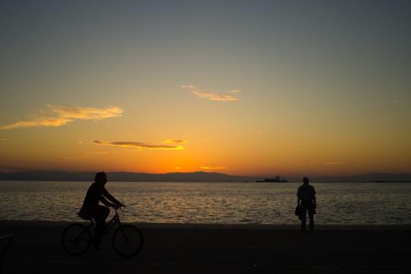 Salonica - sunset by derrymaine