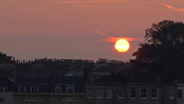 Chimney Pot Sunrise by jon gopsill