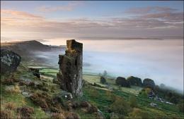 The Pinnacle Stone - Curbar Edge