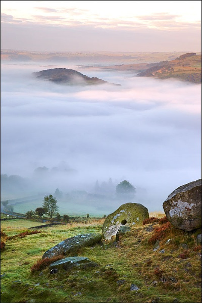 Misty Millstone Morning by richardwheel