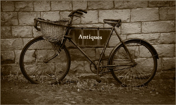 Old Bicycle. by myrab