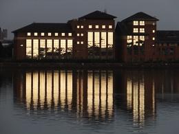 Evening Docks II