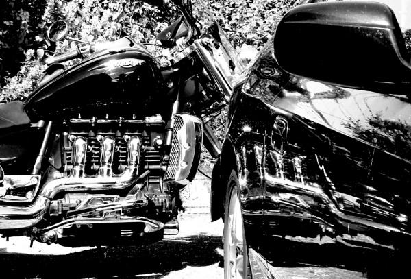 Triumph Rocket 3 by mervyntattoo