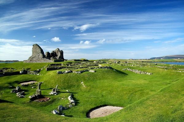 Jarlshof, Sumburgh Shetland by saltholme