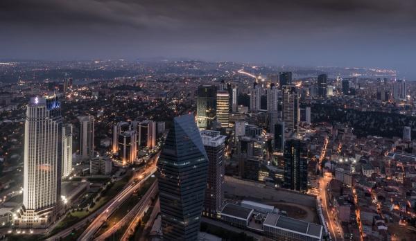Saphire Building,Istanbul by Kim Walton
