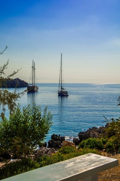 Agios Nikolaos - North end of Zakynthos - Ferry terminal for Kefalonia. by DavyB