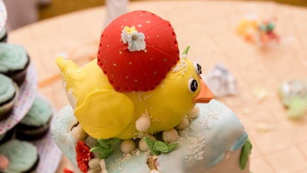 Cake Decoration! by Swarnadip