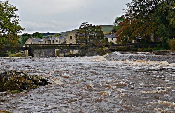 River Wharfe by gwynn56
