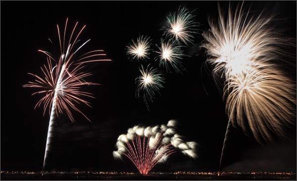 Fireworks by scragend