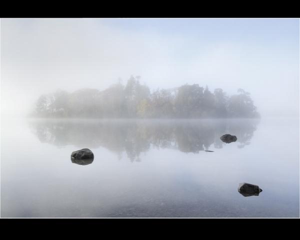 Island in Mist by scragend