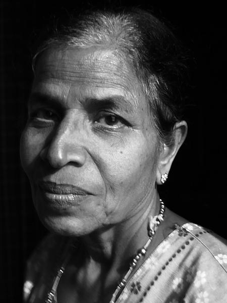 Portrait by jamesthalakottur