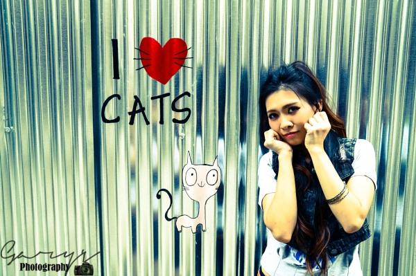 i Love Cat by Garypkk