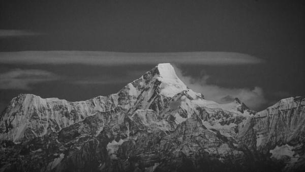 Himalaya from Almora by aj14