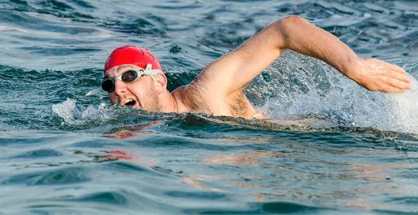 Aquathon Swimmer No 143 by titchpics