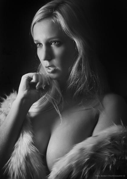 Lauren in Fur by paulbaybutphotography