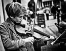The Violinist by oldjoe