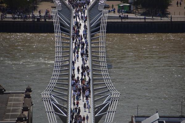 Millennium Bridge. by brianpatcham
