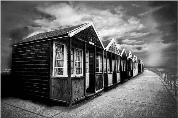 Beach Huts Southwold by churchill123