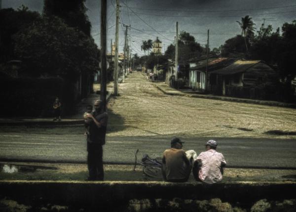 Cuban Street Corner by pete146uk