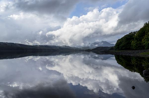 Loch Venachar Reflection... by Scottishlandscapes