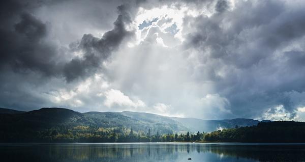 Across Loch Venachar... by Scottishlandscapes
