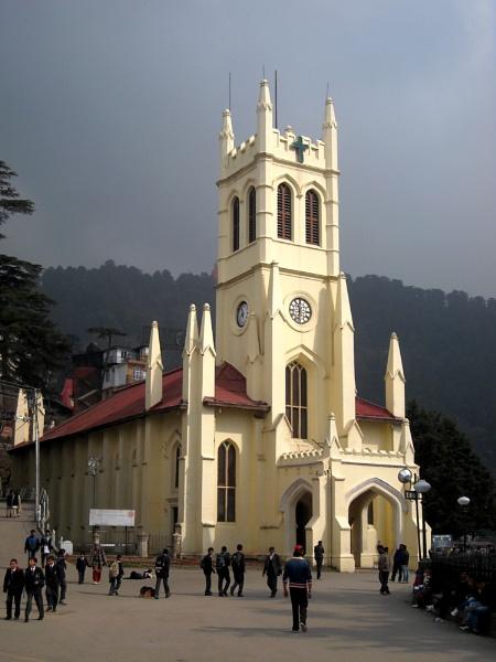Shimla,Church by Bantu