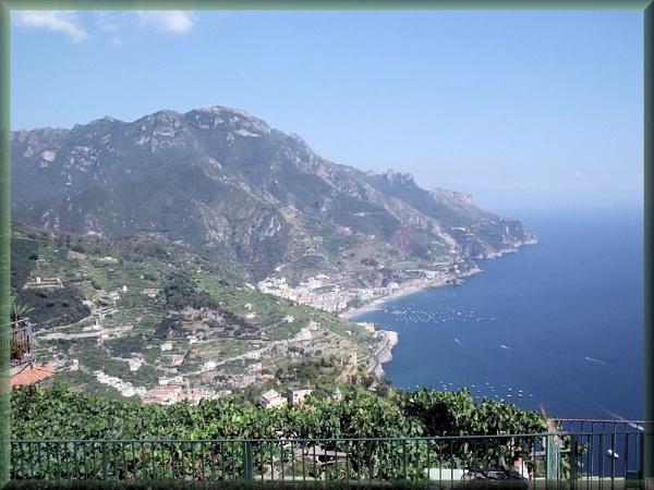 Amalfi Coast Line by alancharlton