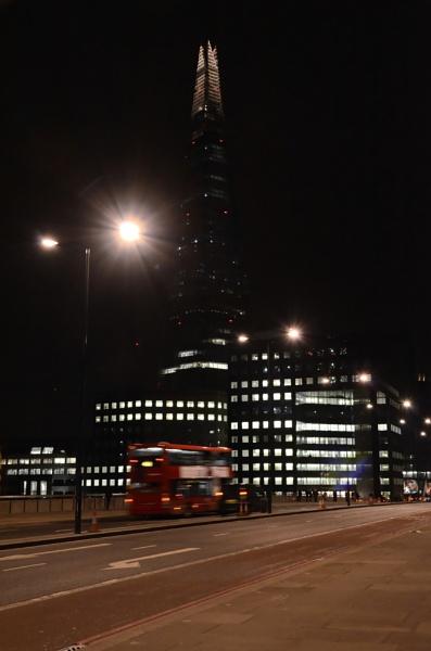 Shard from London Bridge by Tonyc49
