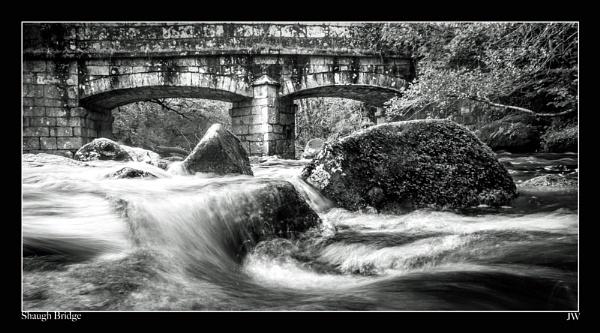 Shaugh Bridge by jer