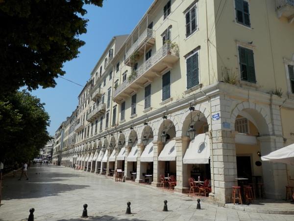 Corfu Town by JAILER68