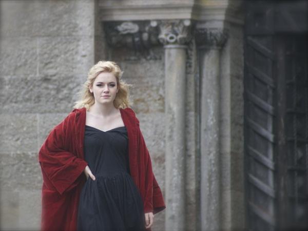 Emily at Penrhyn Castle by DilysT