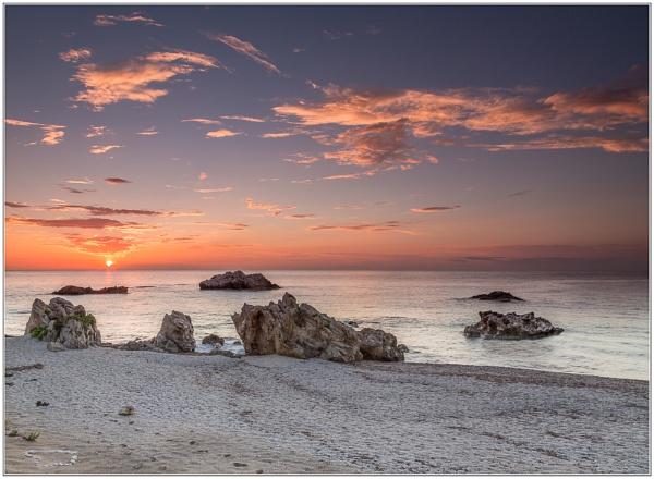 Greek sunset by Mactogo