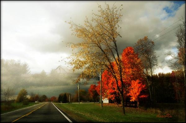 Rural Autumn by doerthe