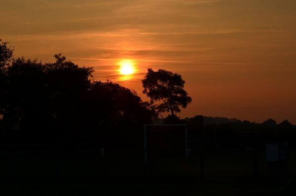 Sun set Back drop by elizabethapike62
