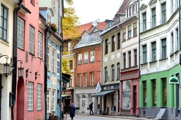 A street in Riga by alan2603